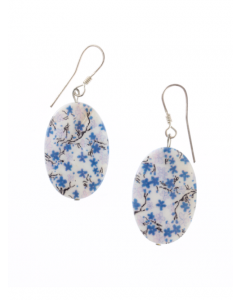 Mother of Pearl Hook Earrings