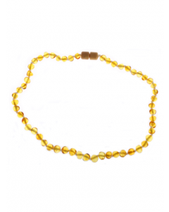 Teething Baroque Amber Necklace